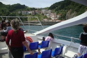 Costa de Bizkaia. Ruta en Barco por Urdaibai.